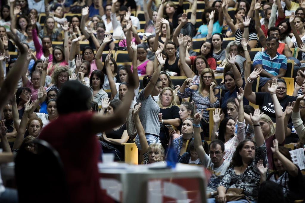 """Greve geral é """"movimento justo e adequado"""", diz Ministério Público do Trabalho Felipe Carneiro/Agencia RBS"""