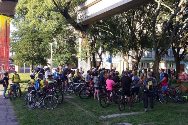 Porto Alegre terá tour gratuito de bike pelo Centro neste sábado Bike Tour Poa/Divulgação