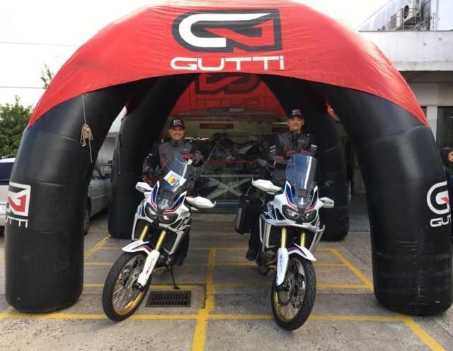 Teste com a Africa Twin para assistir ao MotoGP Renato Gava/Arquivo pessoal