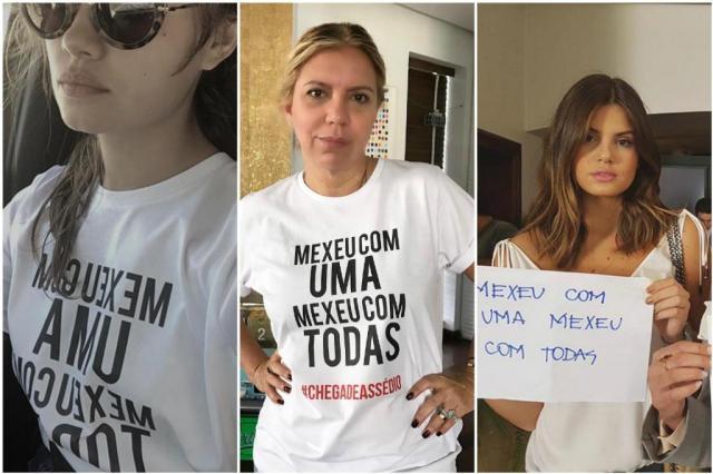 Campanha contra assédio mobiliza atrizes e apresentadoras globais Instagram/Reprodução