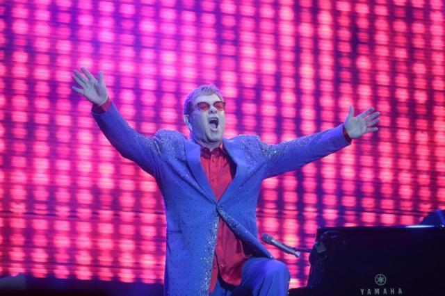 Saiba como foi o show de Elton John e James Taylor em Porto Alegre André Ávila/Agencia RBS