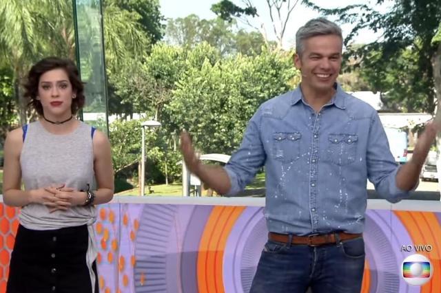 """Otaviano Costa ri de atitude machista no """"BBB"""" e pede desculpas ao vivo: """"Não sou esse ser que eu abomino"""" Reprodução/RBS TV"""