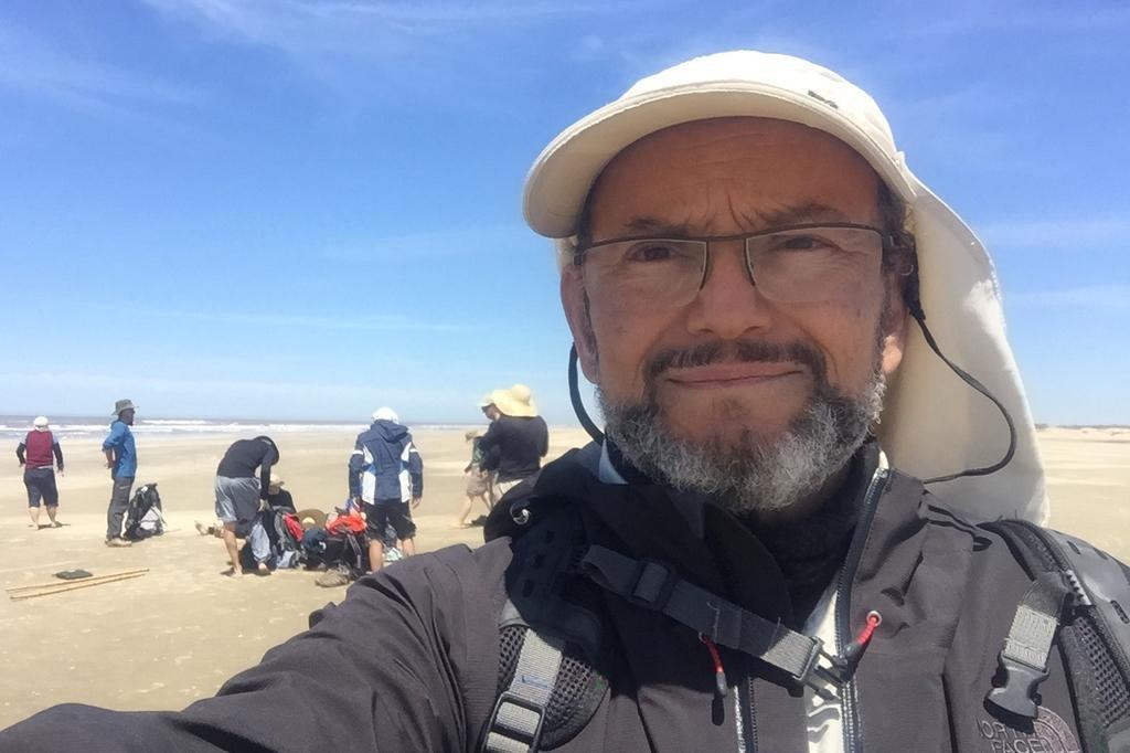 """""""Globo Repórter"""" vai mostrar caminhada do Cassino até a fronteira com Uruguai TV Globo/Divulgação"""