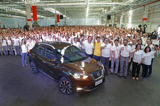 Nissan Kicks agora é brasileiro Nissan, DV/