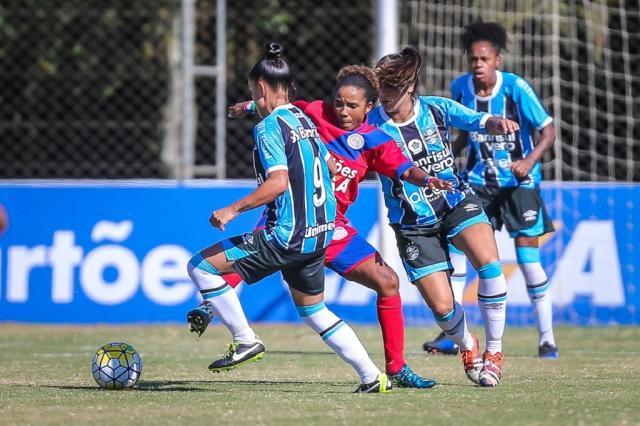 Estrutura amadora contra profissionais: Grêmio corre risco de rebaixamento no Brasileiro feminino Jefferson Bernardes/ALLSPORTS / Divulgação/Divulgação