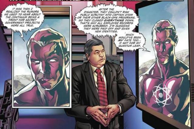 """Datena aparece em história em quadrinhos de super-herói da DC Comics; veja """"ibagens"""" Reprodução/DC Comics"""