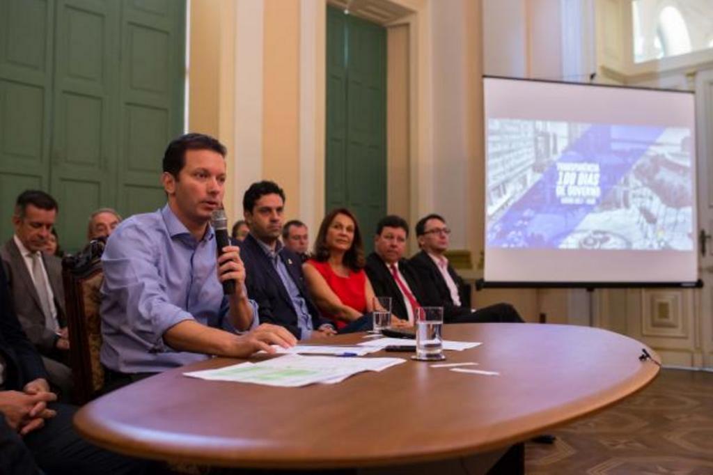 """Marchezan afirma que salários de servidores serão atrasados em """"vários meses"""" Cesar Lopes/PMPA"""