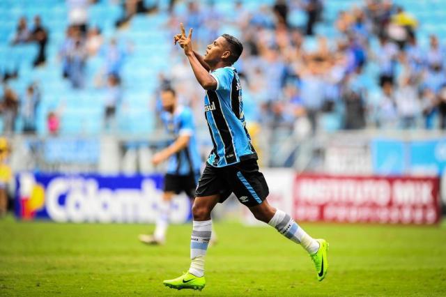 Média de gols no Grêmio indica que Pedro Rocha tem de chutar melhor BRUNO ALENCASTRO/Agencia RBS