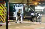 Esquadrão antibombas da Noruega desativa artefato suspeito em Oslo Fredrik Varfjell/NTB Scanpix / AFP
