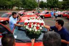 Taxistas fazem manifestação por morte de colega em Porto Alegre Bruno Alencastro/Agencia RBS