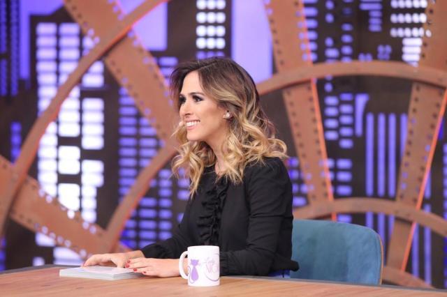 Tatá Werneck tem potencial para ser a grande estrela dos talk shows brasileiros Gianne Carvalho/Multishow,Divulgação
