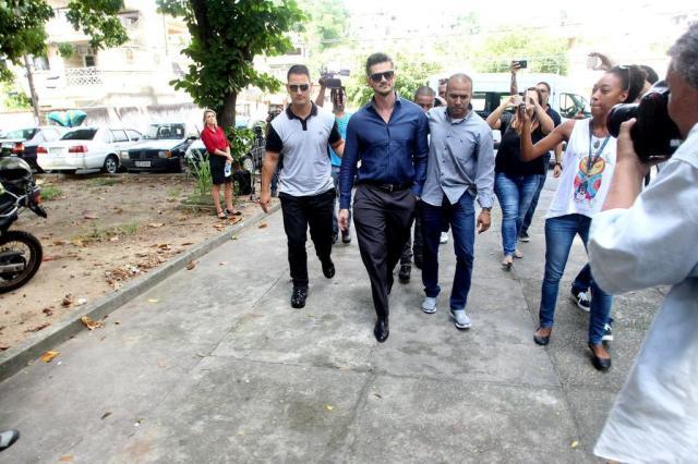 """""""BBB 17"""": após expulsão do programa, Marcos depõe em delegacia no Rio de Janeiro Marcello Sá Barreto/AgNews"""
