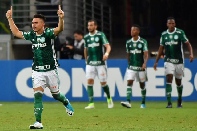 Palmeiras, adversário do Inter nas oitavas, marca quase metade de seus gols nos 15 minutos finais Nelson Almeida / AFP/AFP