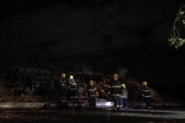 Incêndio atinge prédio da Brigada Militar em Porto Alegre Jefferson Botega/Agência RBS