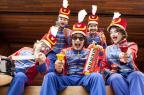 Espetáculo da Orquestra de Brinquedos e outras atrações para as crianças neste fíndi Luis Krebs/Divulgação