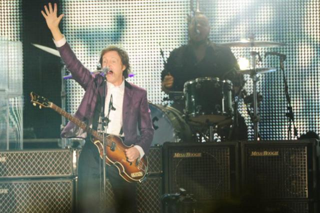 Paul McCartney fará shows no Brasil em outubro Ricardo Duarte / Banco de Dados/Banco de Dados