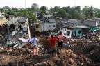 Desabamento de montanha de lixo mata 26 pessoas no Sri Lanka ISHARA S. KODIKARA/AFP