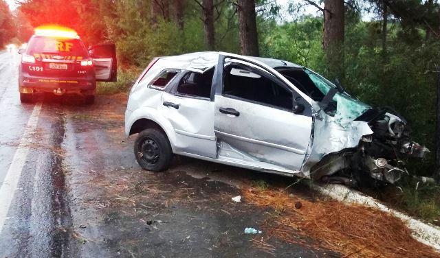 Número de mortes no trânsito cai pela metade no feriadão de Páscoa no RS Divulgação / Polícia Rodoviária Federal/Polícia Rodoviária Federal