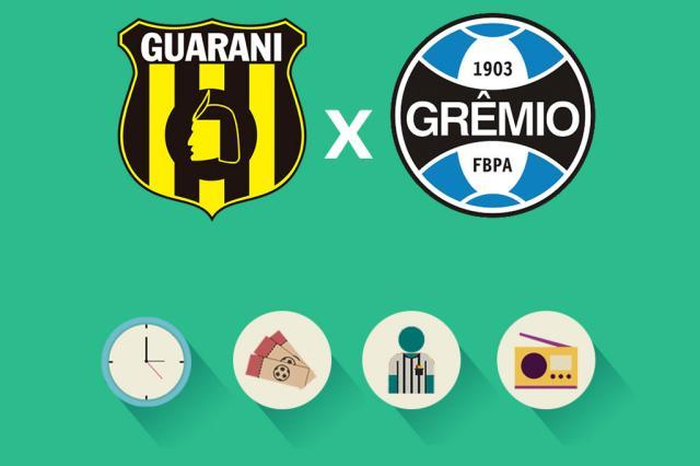 Guaraní x Grêmio: tudo o que você precisa saber para acompanhar a partida Arte ZH/
