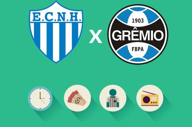 Novo Hamburgo x Grêmio: tudo o que você precisa saber para acompanhar a partida Arte ZH/