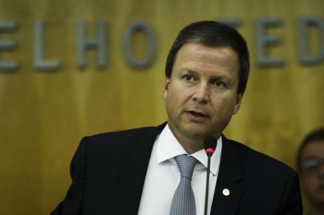 """""""OAB não aceita que Câmara seja usada para proteger grupos políticos"""", diz Lamachia Elza Fiúza/Agência Brasil"""