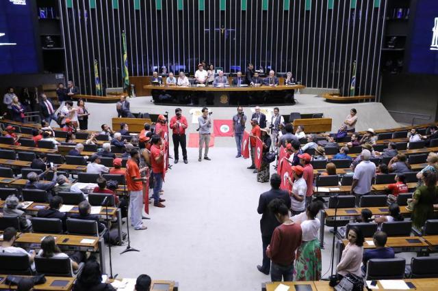 Dia Nacional de Luta pela Reforma Agrária leva MST ao plenário da Câmara Antonio Augusto/Câmara dos Deputados