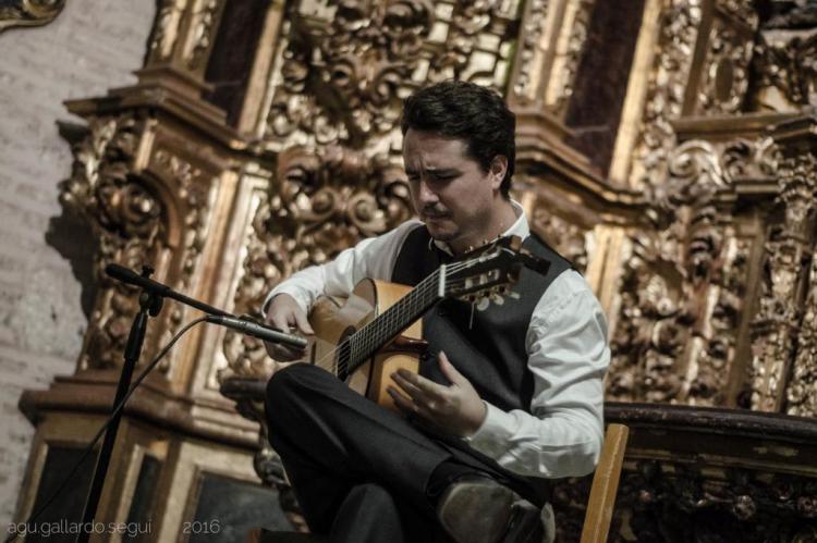 Violonista chileno faz show de guitarra flamenca no StudioClio Agustin Gallardo/Divulgação