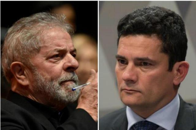 Fragilizado por condenação e novas denúncias, Lula depõe a Moro Montagem sobre fotos: Fabio Rodrigues Pozzebom/Douglas Magno/AFP/Agência Brasil