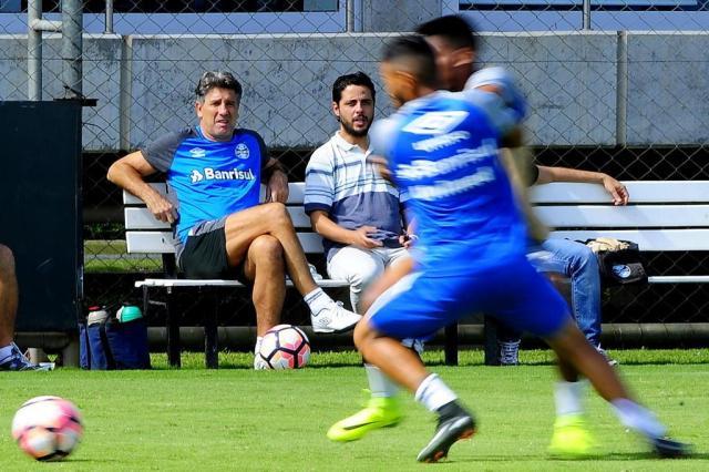 Grêmio não fará reconhecimento do palco do jogo contra o Guaraní-PAR Bruno Alencastro/Agencia RBS