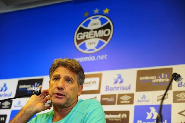 """Renato fala sobre ausência de três titulares em treino: """"Preservação"""" Bruno Alencastro/Agencia RBS"""