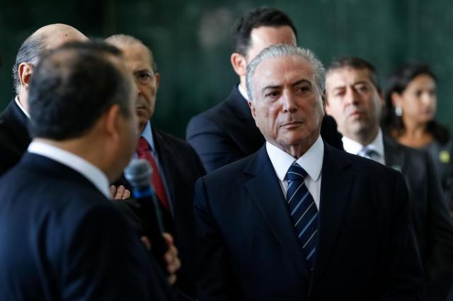 Estamos completando um primeiro ciclo de reformas do país, diz Temer a deputados Marcos Corrêa/Presidência da República