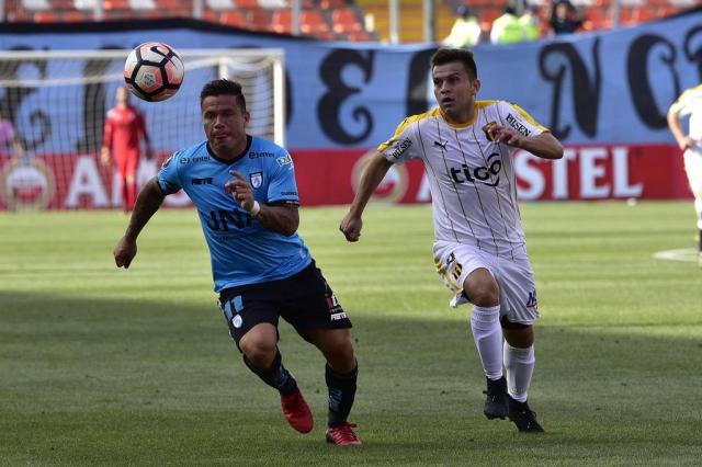 Zamora e Iquique têm confronto direto em busca da salvação Photosport Chile/AFP
