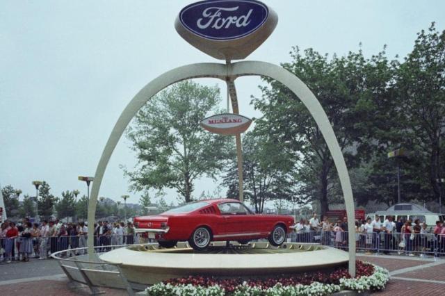No aniversário do Mustang, Ford dá aos fãs ringtone com ronco do carro Divulgação/Ford