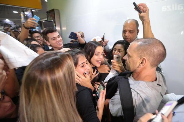 """""""Vou virar atriz, com certeza, não vou sair dos estúdios Globo"""", diz ex-BBB Emilly André Ávila/Agencia RBS"""