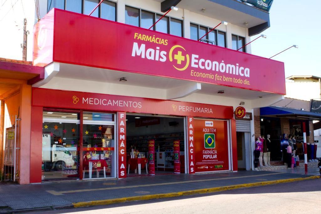 Com dívidas de R$ 152 milhões, rede de farmácias Mais Econômica entra com pedido de recuperação judicial Alexandre Costa Moreira/Divulgação