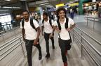 Inter tem voo tranquilo e com assédio de torcedores a Valdívia Carlos Macedo/Agencia RBS