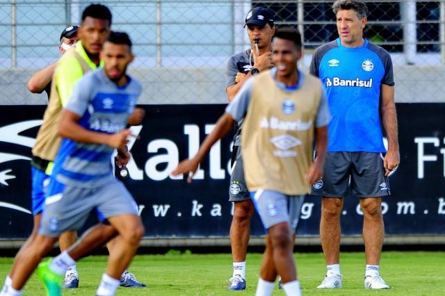 """Renato diz que entende contestações: """"Torcedor sempre acha que o time vai golear"""" Bruno Alencastro/Agencia RBS"""