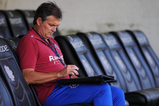 Winck não descarta trocar peças no Caxias para ter mais volume de jogo contra o Inter Felipe Nyland/Agencia RBS