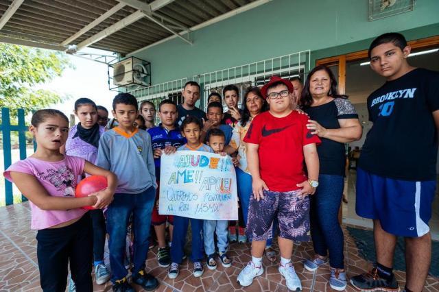 Entidade Rita Yasmin, do Bairro Restinga, que passa por dificuldades financeiras, pede ajuda Omar Freitas/Agencia RBS