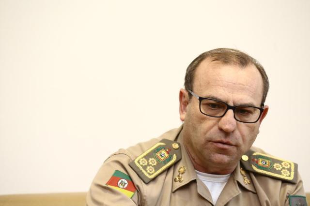 """""""É só questão de o Estado criar condições para a Brigada Militar sair das cadeias"""", diz comandante-geral André Feltes/Especial"""