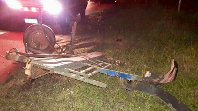 Motorista com CNH cassada provoca acidente grave no Litoral Norte Brigada Militar/Divulgação