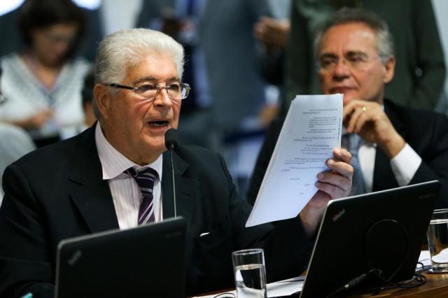 Requião diz que vai retirar menção a Moro em parecer sobre abuso de autoridade Marcelo Camargo/Agência Brasil