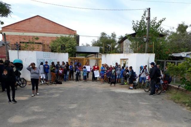 Moradores da região das Ilhas protestam por falta de transporte escolar Arquivo pessoal/Leitor/DG