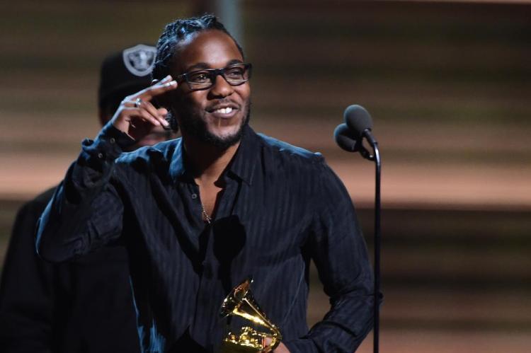"Kendrick Lamar divulga clipe da música ""DNA"" ROBYN BECK/AFP"