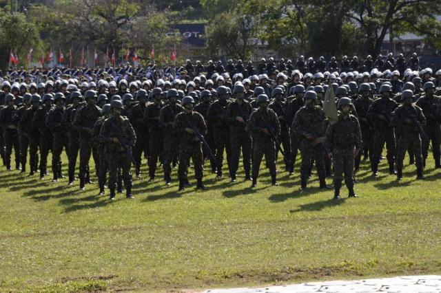 FOTO: militares comemoram o Dia do Exército em Porto Alegre  Comando Militar do Sul/Divulgação