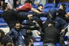 Uefa alerta Lyon e Besiktas de que nova briga de torcidas resultará em exclusão de competições PHILIPPE DESMAZES / AFP/AFP