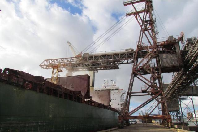 Exportações do RS crescem 18,1% no primeiro trimestre Divulgação/Termasa/Tergrasa