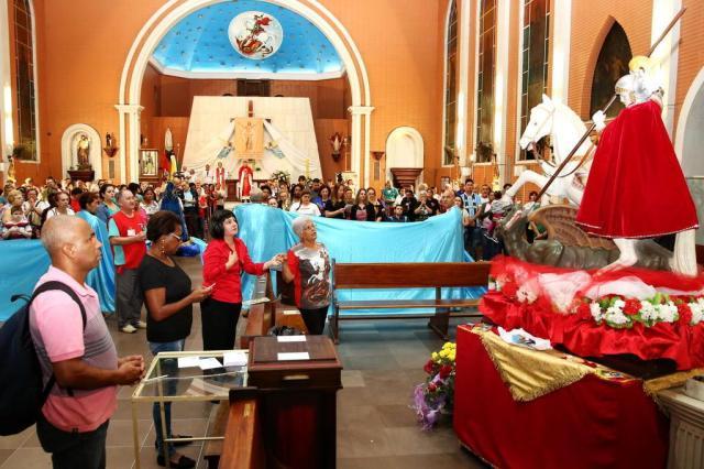Celebrações do dia de São Jorge começam nesta sexta na Capital André Feltes/Especial