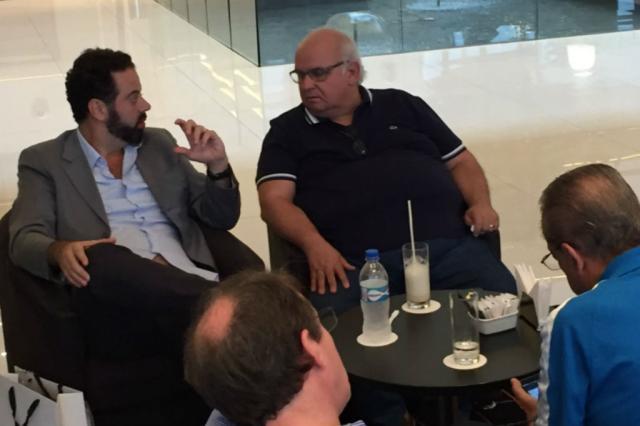 Caso Victor é pauta de conversa entre presidentes de Grêmio e Atlético-MG José Alberto Andrade / Rádio Gaúcha/Rádio Gaúcha