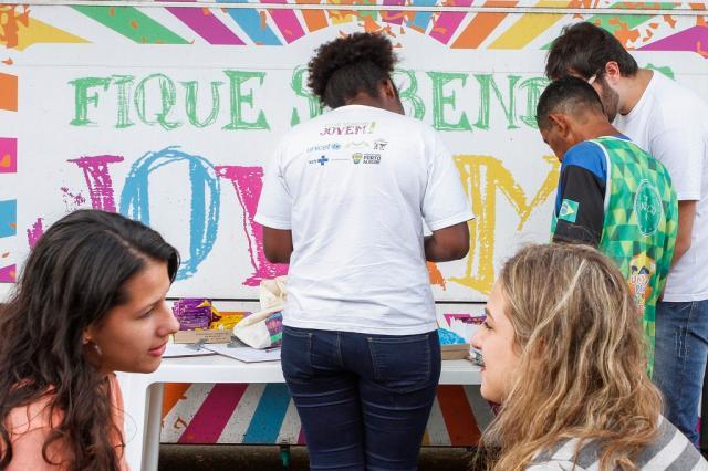 Jovens podem fazer testes gratuitos de HIV na Redenção Divulgação / PMPA/PMPA